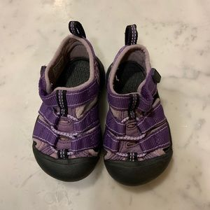 💜 Toddler Keens-size 5-classic style-purple 💜